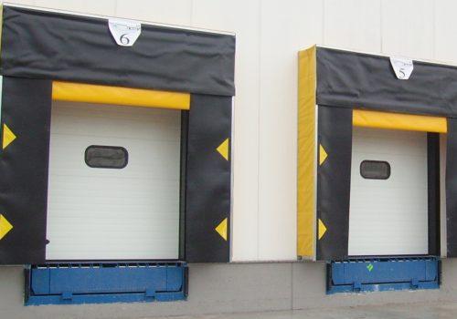 Dock Shelters -Dock Levelers